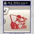 GI Joe Retaliation Jinx Ninja Decal Sticker Red 120x120