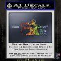GI Joe Retaliation Snake Eyes Ninja Decal Sticker Glitter Sparkle 120x120