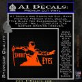 GI Joe Retaliation Snake Eyes Ninja Decal Sticker Orange Emblem 120x120