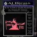 GI Joe Retaliation Snake Eyes Ninja Decal Sticker Pink Emblem 120x120