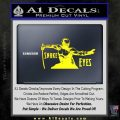 GI Joe Retaliation Snake Eyes Ninja Decal Sticker Yellow Laptop 120x120