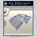 Game Of Thrones Decal Sticker House Stark Blue Vinyl 120x120