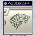 Game Of Thrones Decal Sticker House Stark Dark Green Vinyl 120x120