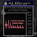 Gun Family Decal Sticker D2 Pink Emblem1 120x120