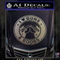 Guns And Boobs Starbucks Molon Labe Decal Sticker Carbon FIber Chrome Vinyl 120x120