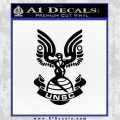 Halo Series United Nations Space Command Logo D1 Decal Sticker Black Vinyl 120x120