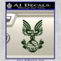 Halo Series United Nations Space Command Logo D1 Decal Sticker Dark Green Vinyl 120x120