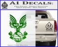 Halo Series United Nations Space Command Logo D1 Decal Sticker Green Vinyl Logo 120x97