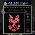 Halo Series United Nations Space Command Logo D1 Decal Sticker Pink Emblem 120x120