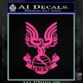 Halo Series United Nations Space Command Logo D1 Decal Sticker Pink Hot Vinyl 120x120