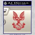 Halo Series United Nations Space Command Logo D1 Decal Sticker Red 120x120