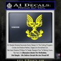 Halo Series United Nations Space Command Logo D1 Decal Sticker Yellow Laptop 120x120