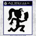 Hatchet Girl Decal Sticker ICP Black Vinyl 120x120