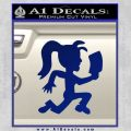 Hatchet Girl Decal Sticker ICP Blue Vinyl 120x120