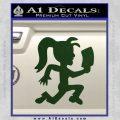 Hatchet Girl Decal Sticker ICP Dark Green Vinyl 120x120