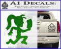 Hatchet Girl Decal Sticker ICP Green Vinyl Logo 120x97