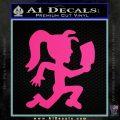 Hatchet Girl Decal Sticker ICP Pink Hot Vinyl 120x120