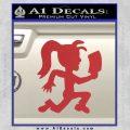 Hatchet Girl Decal Sticker ICP Red 120x120