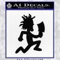 Hatchet Man Decal Sticker ICP Black Vinyl 120x120