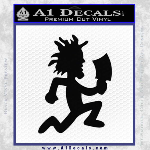 Hatchet Man Decal Sticker ICP Black Vinyl