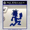 Hatchet Man Decal Sticker ICP Blue Vinyl 120x120