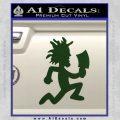 Hatchet Man Decal Sticker ICP Dark Green Vinyl 120x120