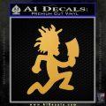 Hatchet Man Decal Sticker ICP Gold Vinyl 120x120