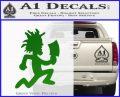 Hatchet Man Decal Sticker ICP Green Vinyl Logo 120x97