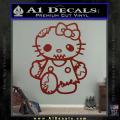 Hello Kitty Zombie Apocolypse HKZ Decal Sticker DRD Vinyl 120x120