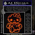 Hello Kitty Zombie Apocolypse HKZ Decal Sticker Orange Emblem 120x120