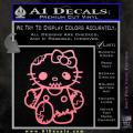 Hello Kitty Zombie Apocolypse HKZ Decal Sticker Soft Pink Emblem 120x120