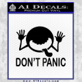 Hitchhikers Guide To The Galaxy Decal Sticker Black A Vinyl 120x120