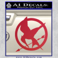 Hunger Games Mockingjay Decal Sticker Red Vinyl 120x120