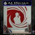 James Bond 007 Decal Sticker Barrel SQ 2 DRD Vinyl 120x120