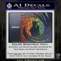 James Bond 007 Decal Sticker Barrel SQ 2 Glitter Sparkle 120x120