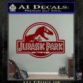 Jurassic Park Title Decal Sticker DRD Vinyl 120x120