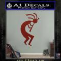Kokopelli D1 Decal Sticker 2 Pack DRD Vinyl 120x120