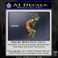 Kokopelli D1 Decal Sticker 2 Pack Spectrum Vinyl 120x120