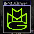 Maybach Music Group MMG D1 Decal Sticker Lime Green Vinyl 120x120
