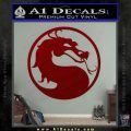 Mortal Kombat Decal Sticker DS DRD Vinyl 120x120