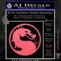 Mortal Kombat Decal Sticker DS Pink Emblem 120x120