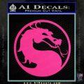 Mortal Kombat Decal Sticker DS Pink Hot Vinyl 120x120