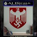 Nazi Eagle Crest D1 Decal Sticker DRD Vinyl 120x120