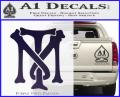Scarface Tony Montana Crest Decal Sticker 1 120x97