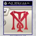 Scarface Tony Montana Crest Decal Sticker 10 120x120
