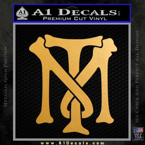 Scarface Tony Montana Crest Decal Sticker 16