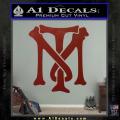 Scarface Tony Montana Crest Decal Sticker 17 120x120