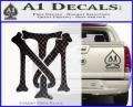 Scarface Tony Montana Crest Decal Sticker 4 120x97