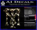 Scarface Tony Montana Crest Decal Sticker 5 120x97