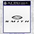 Smith Optics Decal Sticker Black Vinyl 120x120